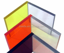 SGS,ISO,ROHS Polycarbonate solid sheet/skylight/greenhouse/carport/awning/polycarbonate