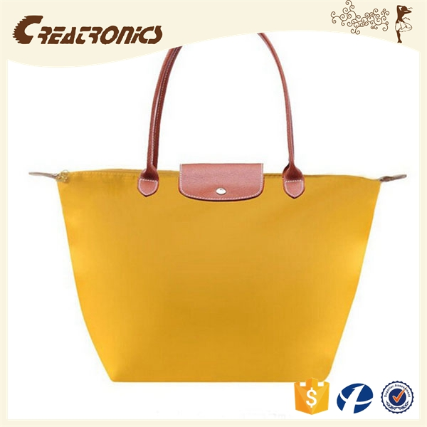 CR fully stocked latest business trends nylon material shoulder bag long handle waterproof handbag large tote bags