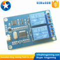 KJ367 MICRO USB Relay Module 5v 2 Channel Relay Module Relay control panel with indicator 2way Relay output usb interface