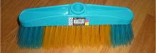 cleaning item hard and soft bristle plastic broom