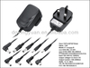 12v indoor power adapter, wall mount type approved CE,RoSH