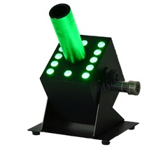 co2 jet stage effect hand gun/led co2 gun jet with 12*3w led