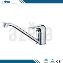 Cheap Single Handle Chrome Brass Kitchen Hot Water Tap