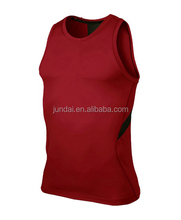 Men's Dri-Fit Stay Cool Compression tights Sleeveless Shirt Gym Vest
