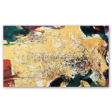 Canvas modern abstract oil painting for living room