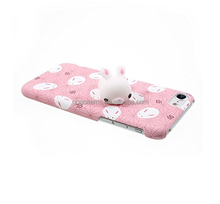 lovely 3D animal TPU china oem 5.5 inch mobile squishy phone case manufacturer for iPhone 7
