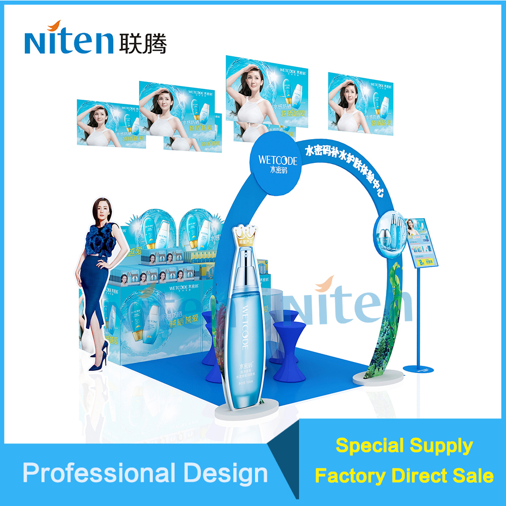 folding cardboard cupcake stand for exhibition display