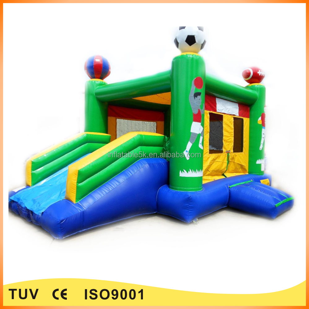 Good quality inflatable combo bouncers inflatable sport playground for kids