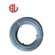 2.5mm High Tensile Steel Wire Rope 7*7 Steel Cable