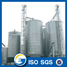 Corrugated steel storage grain silo 500 tons grain storage steel silo