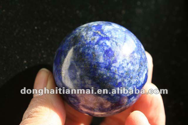 Natural Blue Jade Sphere/Ball