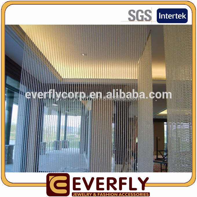 Factory directly wholesale hanging chain curtain, high quality hanging chain curtain