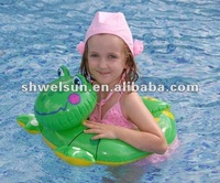 Inflatable Pvc Frog swim ring
