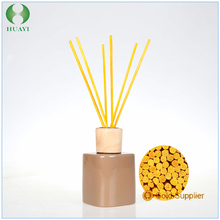 glass bottle aroma diffuser reed diffuser with rattan sticks