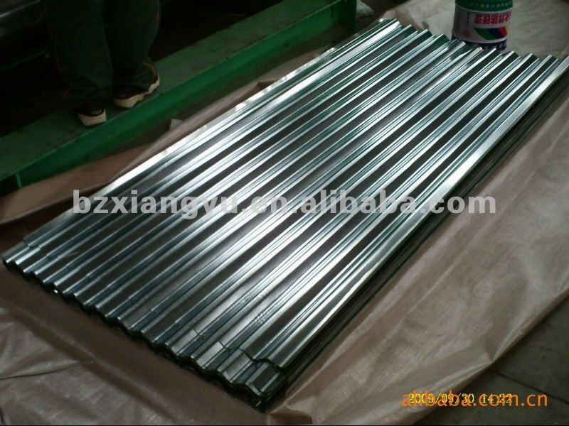 0.5mm corrugated galvanized zinc roof sheets