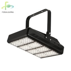 Portable tennis court power line light ultra thin outdoor heavy duty 208v 200w led flood lighting