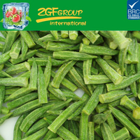 wholesale high quality iqf frozen chinese okra for sale