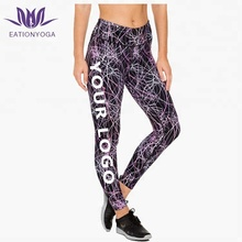 Supplex yoga broek custom gym spandex leggings