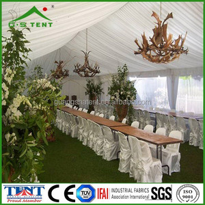 changzhou wedding tent with curtain with decoration