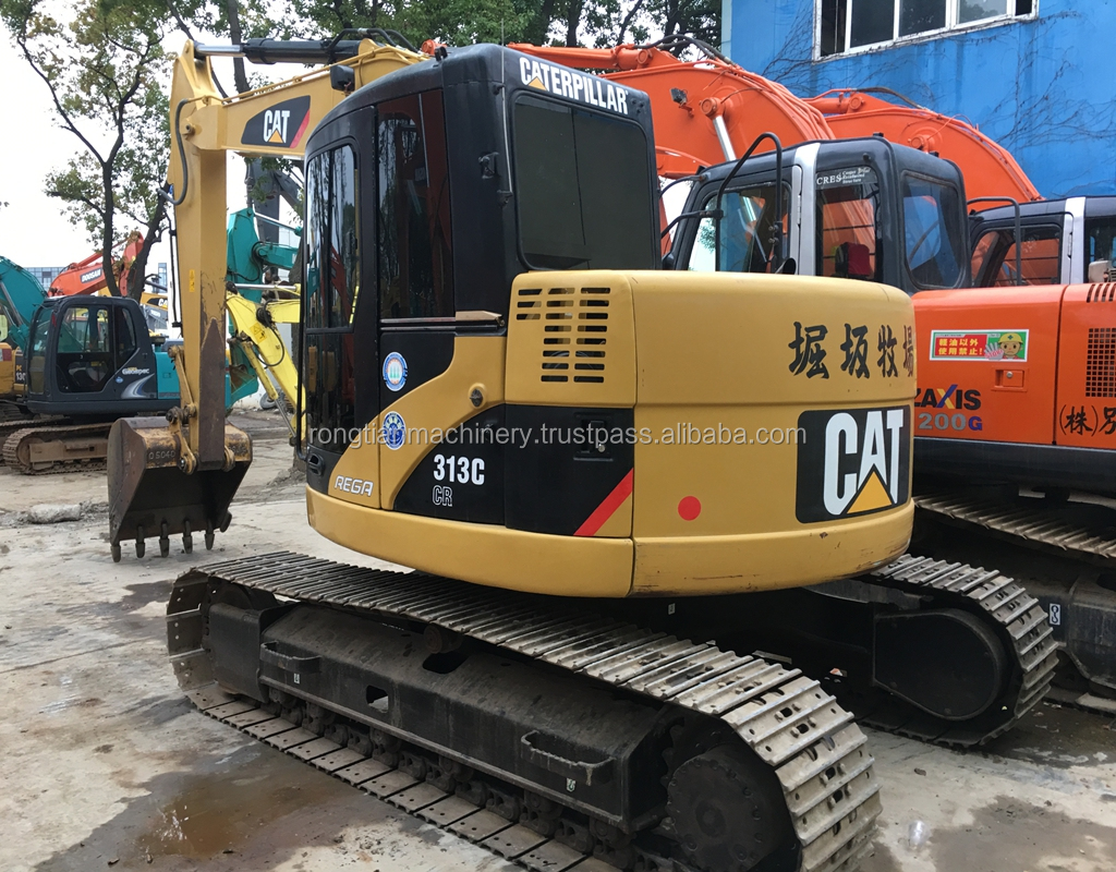 Low price hydraulic crawler excavator cat 313 from Japan in stock for hot sale