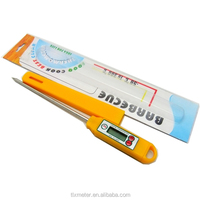 Handy Lcd Digital Pork / Beef Meat Thermometer ,Pen Type Thermometer