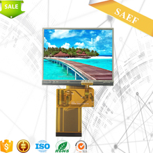 factory supply 3.5 inch tft lcd display with QVGA lcd touch screen for project