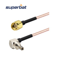 Antenna Adapter Cable CRC9 to RP SMA male