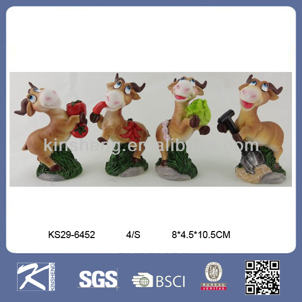 2015 Chinese Zodiac Handmade Polyresin Decorative Sheep Figurine Crafts