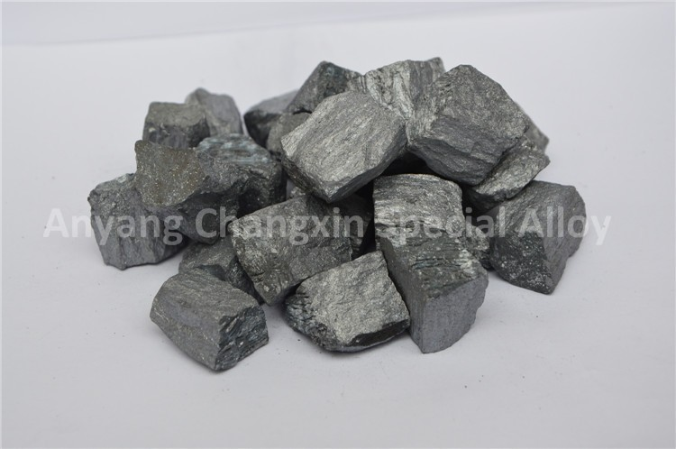 Magnesium ferrosilicon is used for modifying molten malleable iron