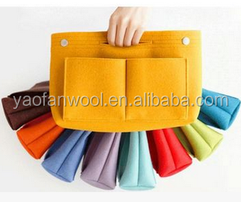 China manufacturer supply best price wholesale felt bag organizer