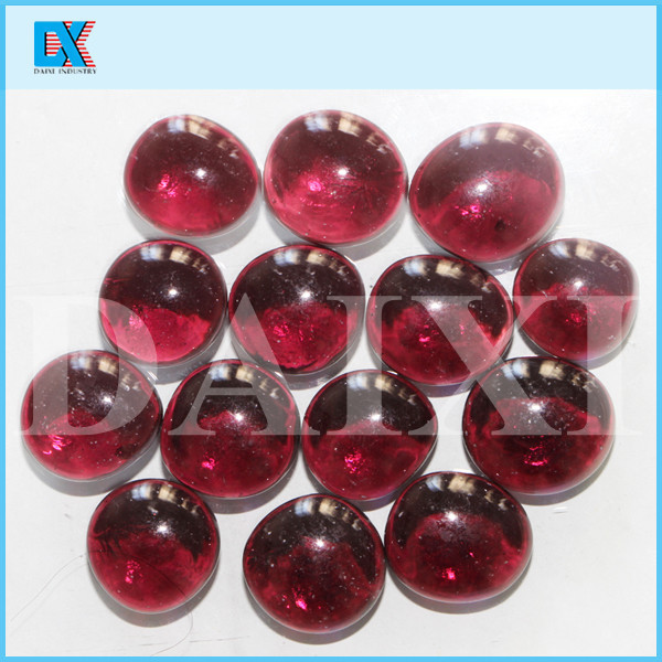Wholesale decorative clear red glass balls