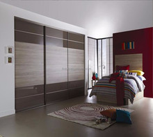 simple luxury high quality bedroom wardrobe made in foshan