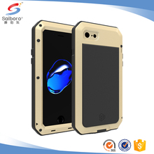 Mobile phone accessories aluminum metal waterproof case for iphone 7