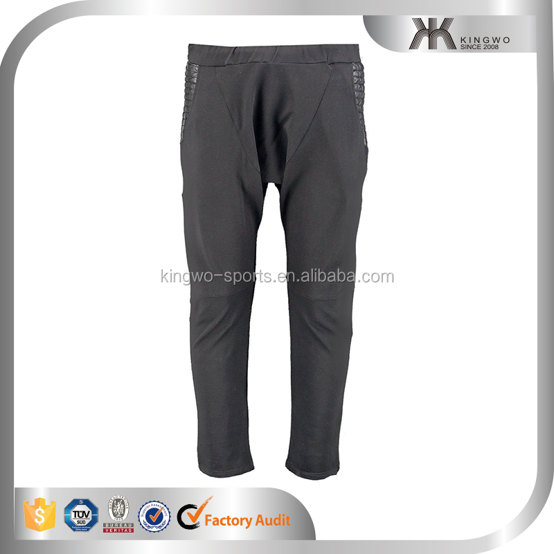 skinny fit jogger in drop crotch with zipper design side Pu