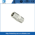 "Hex.Nipple 1/4""male stainless steel pipe fittings NPT"