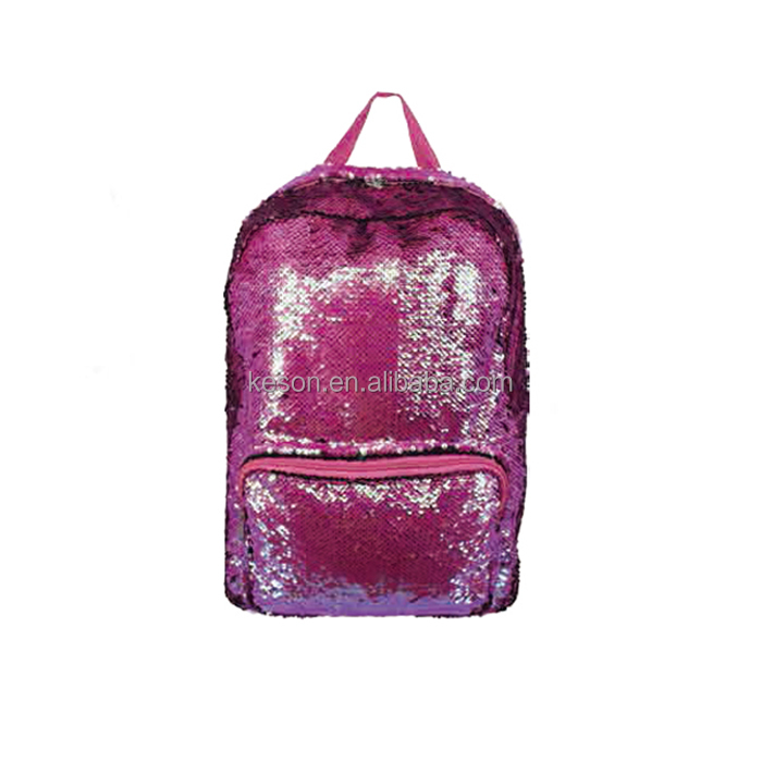 sequin Embroidery backpack bag glitter backpack for Girls Sequin Backpack
