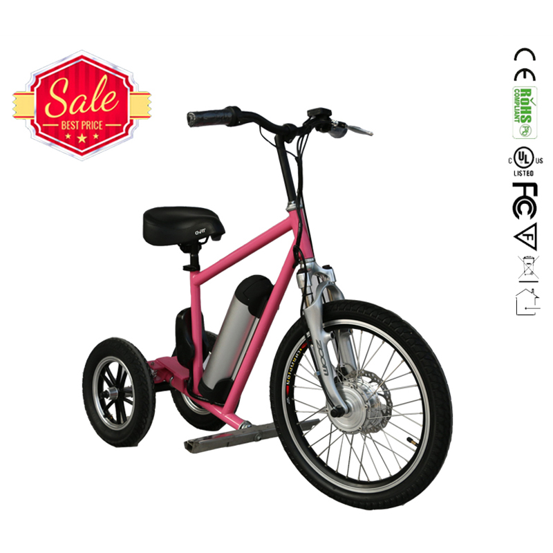 China supplier 20 inch green power electric tricycle