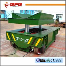 Heavy equipment hydraulic lifting motorized transfer transporter for shipyard