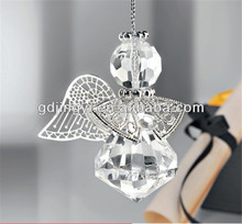 acrylic diamond craft angel hanging wedding decoration gifts for guests