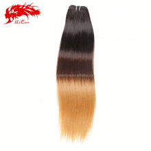 Can be dyed cheap ombre hair extension