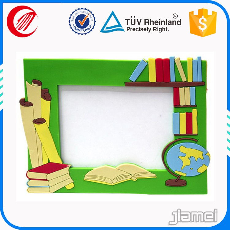 Hot gift China Factory Soft PVC frame/Picture Photo Frame/Silicone Photo Frame