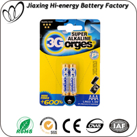Non Rechargeable alkaline dyr battery aaa battery 1.5v lr03