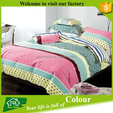 Home Textile High Thread Count Colorful 100% Cotton Wholesale Bed Linen