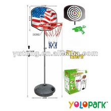 2 IN 1 Basketball Backboard & Soft Gun CX11-5
