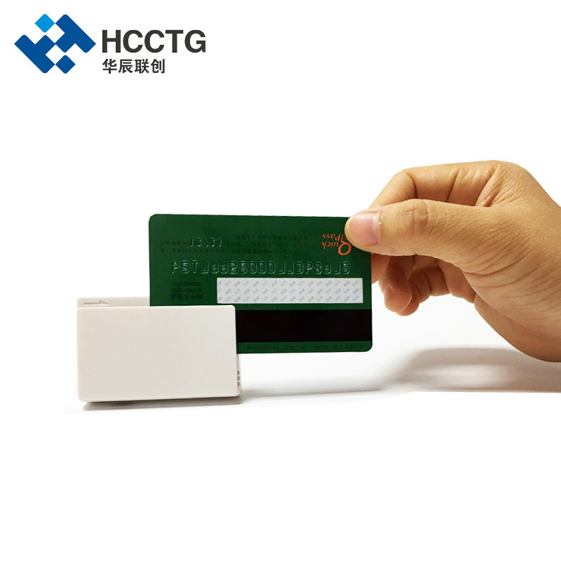 IOS/Android EMV MSR + Contact IC Chip Credit Card Swipe Machine With Bluetooth MPR100