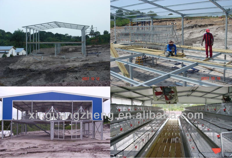 workshop/warehouse/building used steel sheds