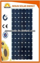 Best price high efficiency mono solar panel 200w 12v with CE TUV certificate