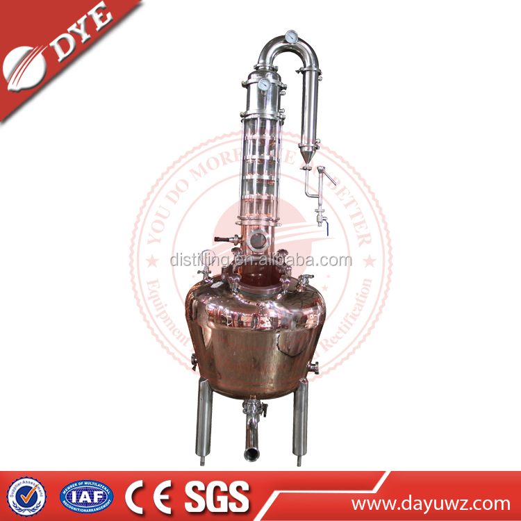 Stainless Distiller Pot Stills Alcohol Distillation Equipment