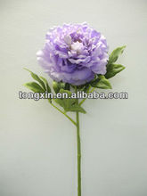 27140PN punch craft flower natural looking plantae silk organza flower supplier with wholesale price