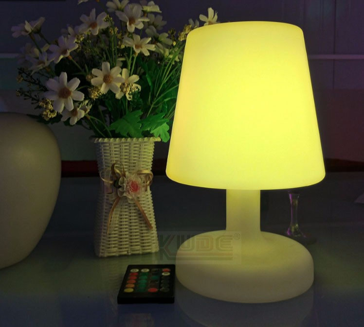 Rechargeable led table lamp soft light mini decoration lamp